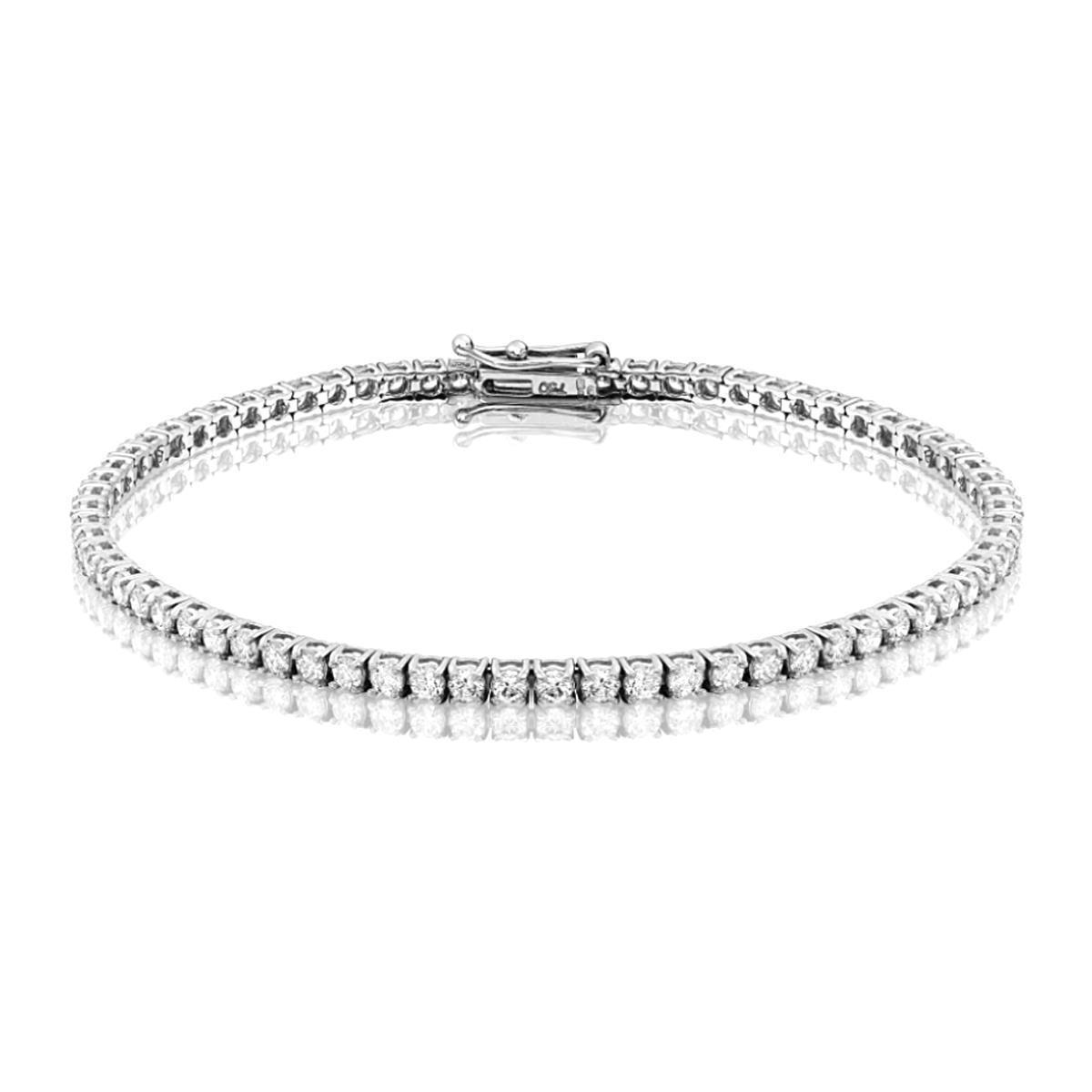 Radiance Collection 2.96ct Diamond Tennis Bracelet