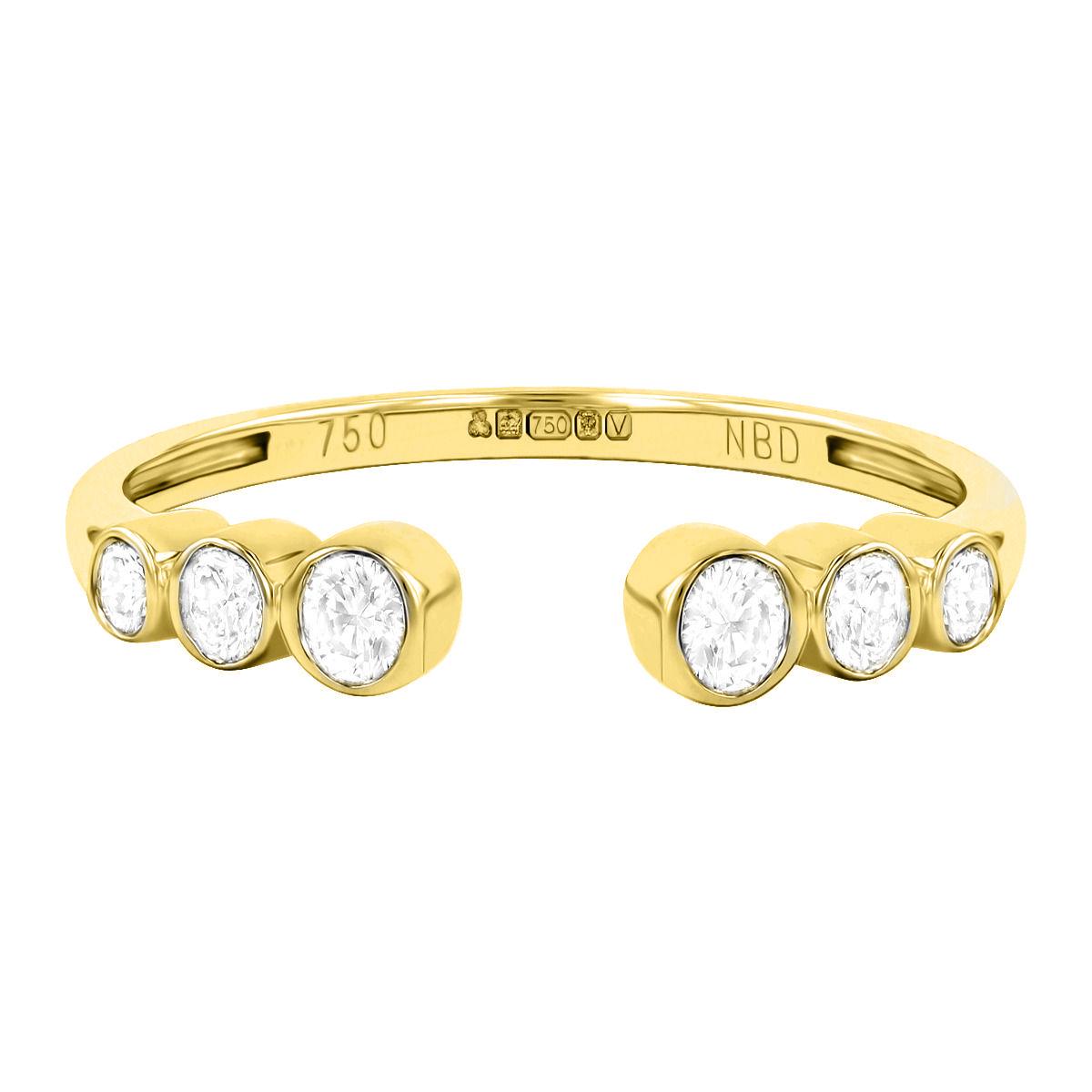 0.20ct Diamond Stacking Ring | 9K Yellow Gold
