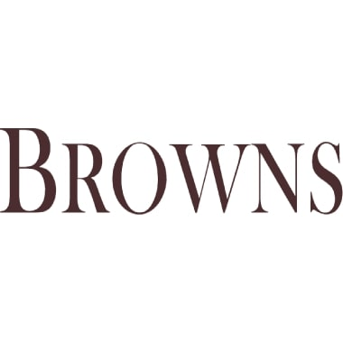 Browns Gemstones Collection 0.50ct | Diamond & Ruby Half Eternity | 18ct Rose Gold