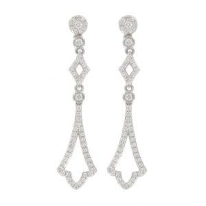 Browns Family Jewellers Diamond Drop Earrings