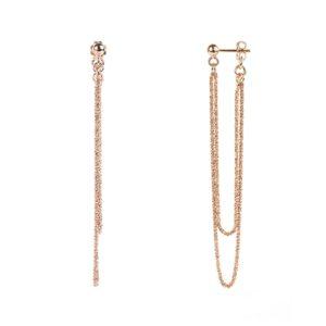 Vamp London Chic Rio Rose Gold Earrings